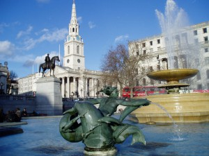 London Trafalgar Square von Brad Smith (flickr)